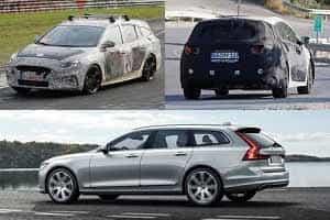 Универсалы 2018 года Hyundai i40, Ford Focus 4, Volvo V60