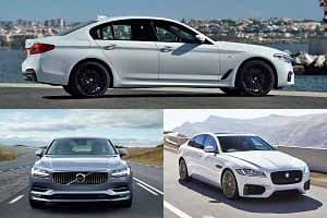 Бизнес-седаны с 2-литровыми дизелями BMW 5 Series, Jaguar XF, Volvo S90