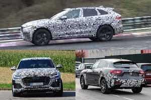 Заряженные кроссоверы 2018 года Maserati Levante GTS, Audi SQ8, Jaguar F-Pace SVR