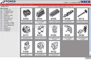 Каталог Iveco Power