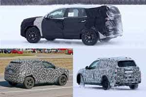 7-местные кроссоверы 2018 года Hyundai Santa Fe, Jeep SUV, BMW X7