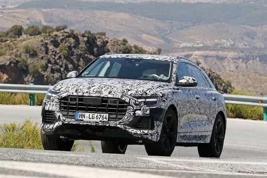 Audi Q8 2018 года