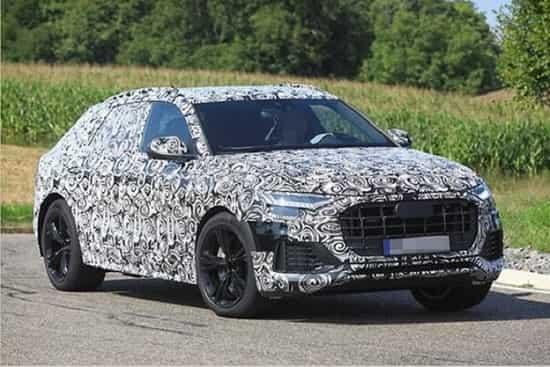 Audi SQ8 2018 года