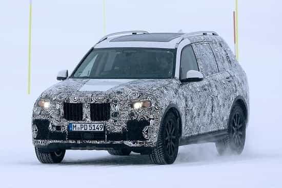 BMW-X7- 2018 года