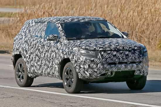 Jeep-SUV 2018-2019 года