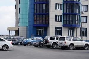 Придомовая парковка