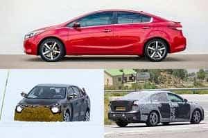Какими будут седаны C-класса в 2019 году: Toyota Corolla, Ford Focus, Kia Ceed