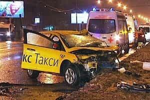 Авария с участием такси