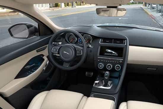 Салон Jaguar E-Pace 2018 года