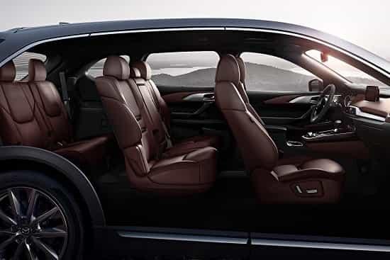 Салон Mazda CX-9 2 поколения