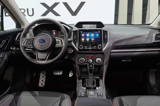 Салон Subaru XV 2 поколения
