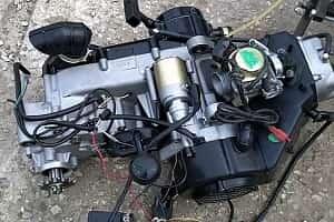 Унифицированный двигатель от квадрацикла