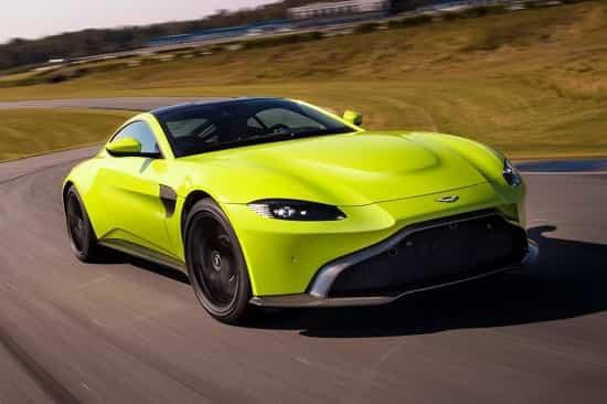 Aston Martin Vantage 2019 года