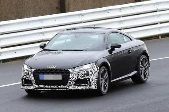 Audi TT 2019 года