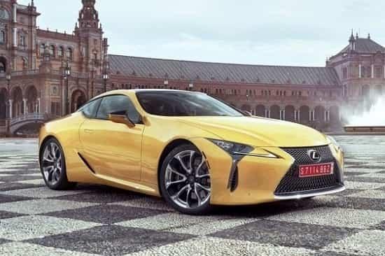 Lexus LC 2019 года