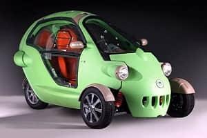 Российский трехколесный электромобиль