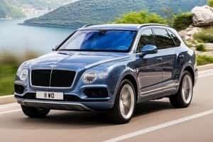 Bentley Bentayga с дизельным двигателем