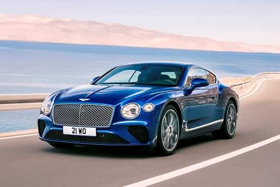 Bentley Continental GT 2018 года