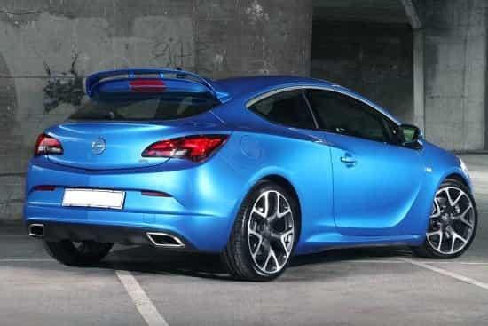 Opel Astra 2019 года