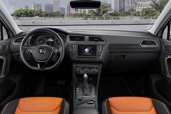 Салон Volkswagen Tiguan 2 поколения