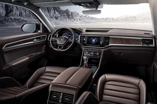 Салон Volkswagen Teramont 2018