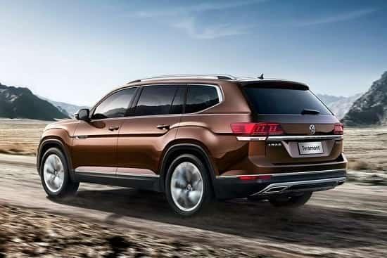Volkswagen Teramont 2018 года
