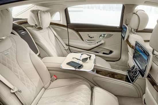 Заднее сидение Mercedes-Maybach S-Class