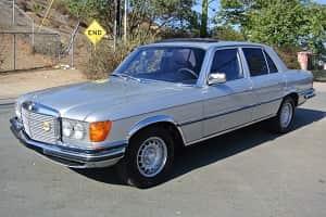 Mercedes-Benz W116 350 SE 1979 года