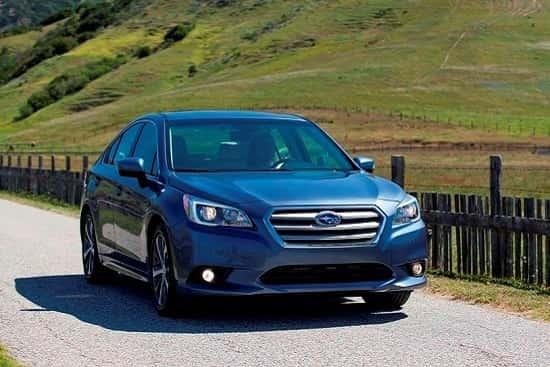 Subaru Legacy 2017 года