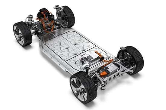 Батарея Jaguar I-Pace