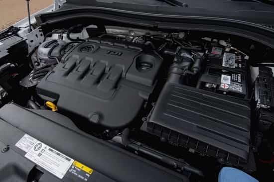 Двигатель Skoda Kodiaq 2018 года