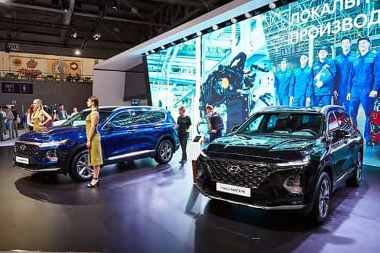 Площадка Hyundai на ММАК 2018 года