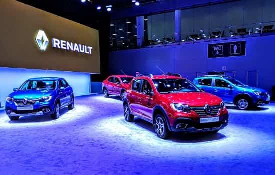 Площадка Renault на ММАК 2018 года