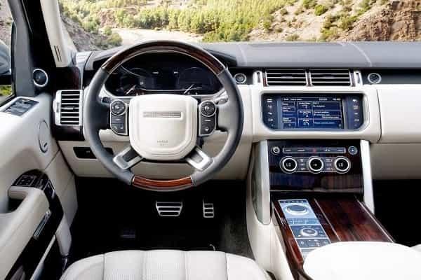 Садлон Range Rover Hybrid