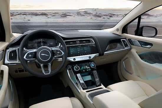 Салон Jaguar I-Pace