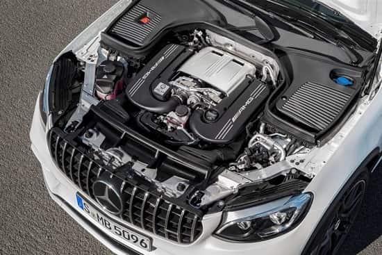 Двигатель Mercedes-AMG GLC 63 S Coupe