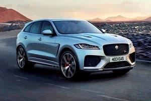 Jaguar F-Pace 2019 года