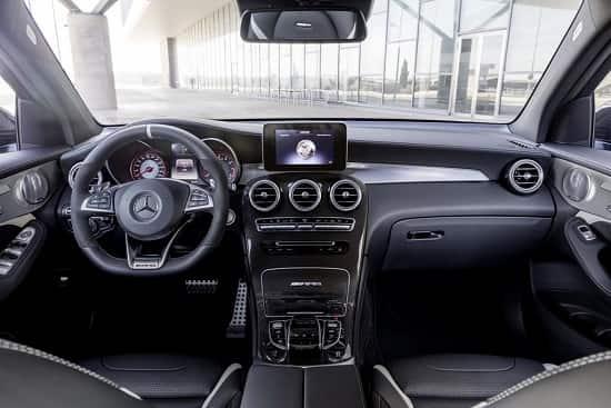 Салон Mercedes-AMG GLC 63 S Coupe