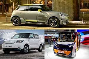 Серийные электромобили 2019 года