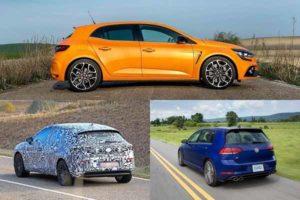 Renault Megane, Seat Leon, Volkswagen Golf