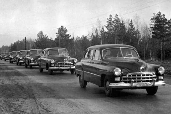 Автомобили ГАЗ-12 ЗИМ