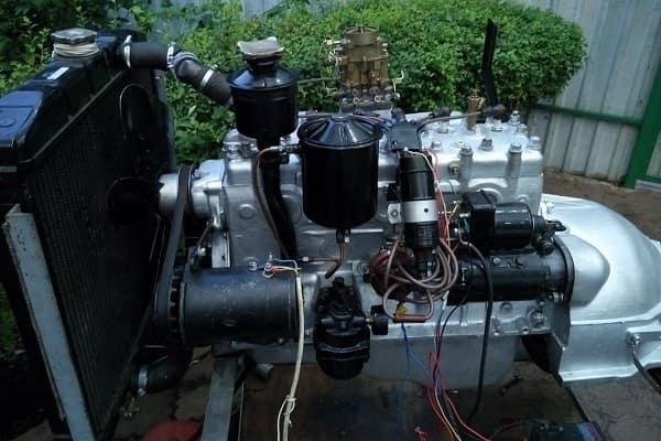 Двигатель ГАЗ-12 ЗИМ