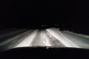 Плохое освещение дороги