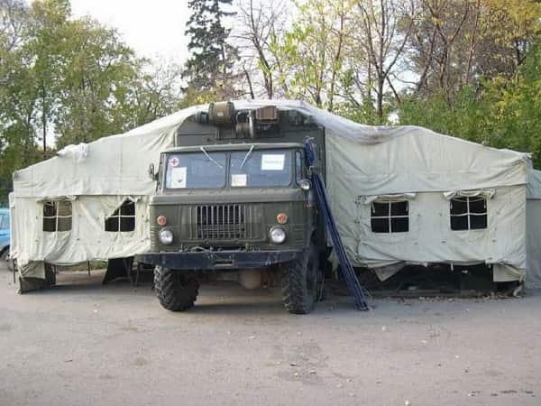 Медицинский ГАЗ-66