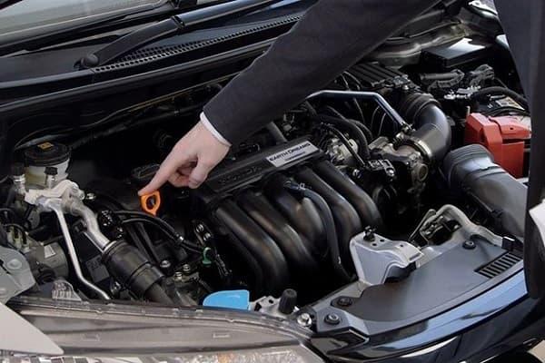 Осмотр двигателя
