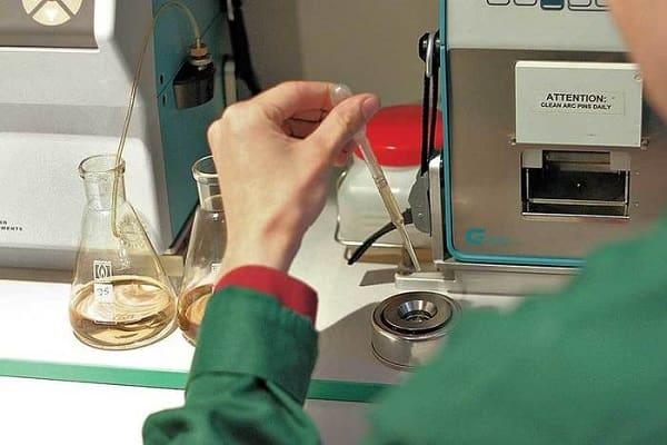 Проверка содержания бензола