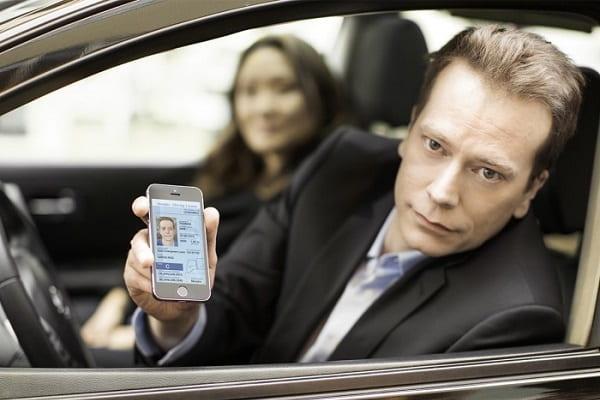 Электронные водительские права