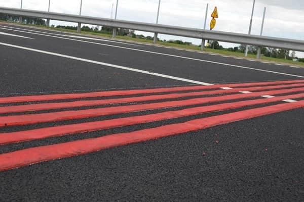 Красные шумовые полосы