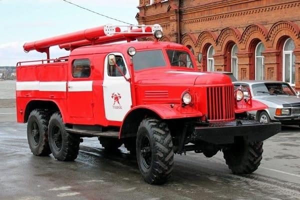 Пожарная ЗИЛ-157