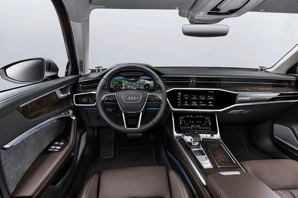 Салон Audi A6 2019 года